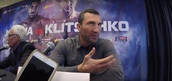 Klitschko: Is Joshua The New Frank Bruno?