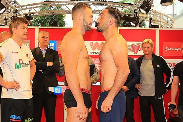 Bosel And Murat Make Weight