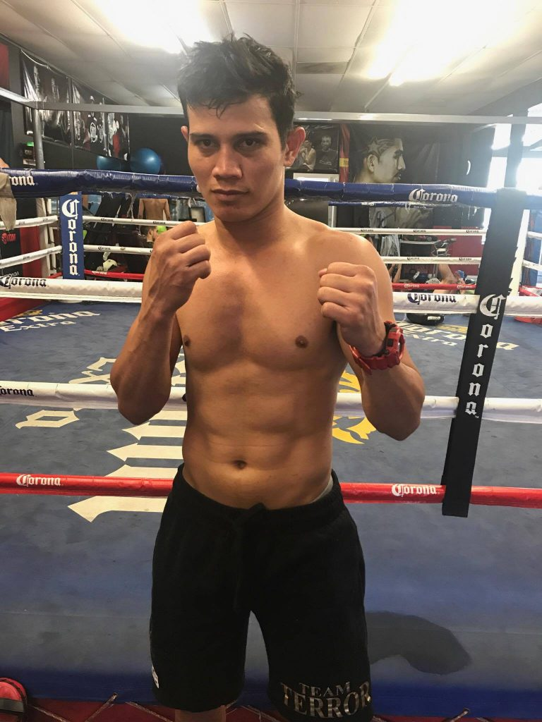 """12c714da90 Recky """"The Terror"""" Dulay is now excited and ready to fight (Photo courtesy  of RED International Promotion)"""