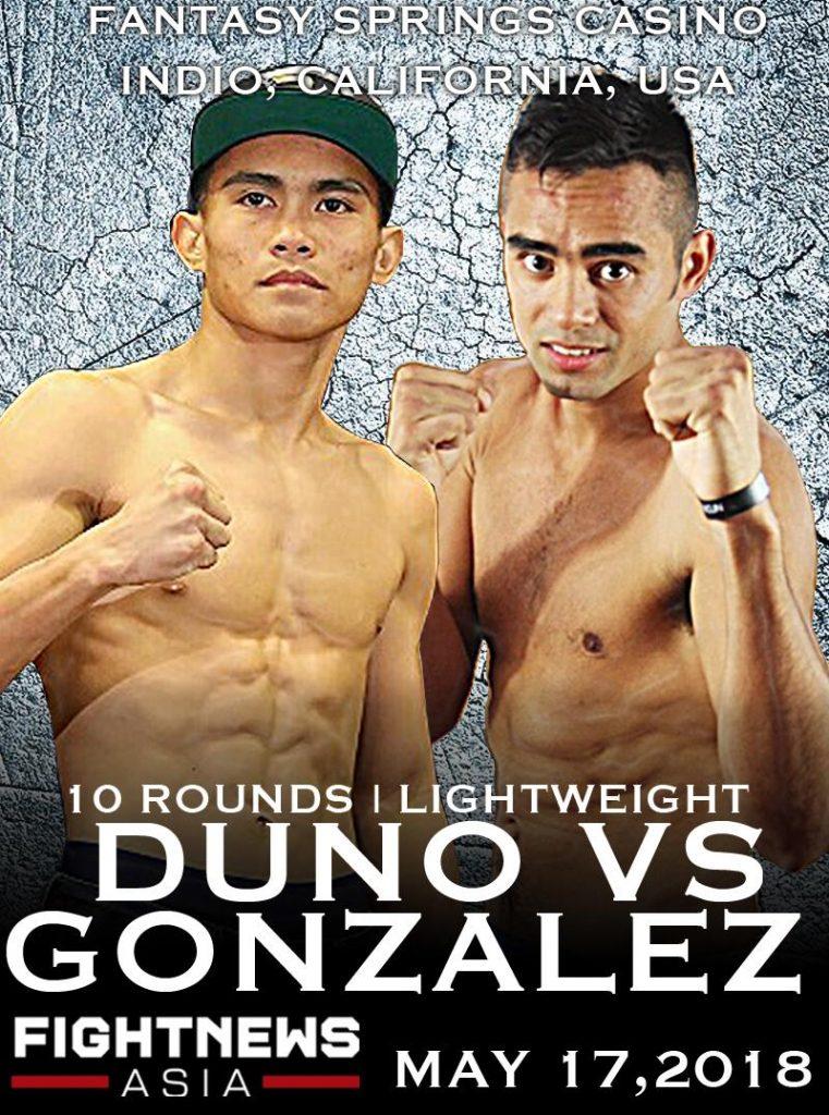 Duno VS Gonzalez