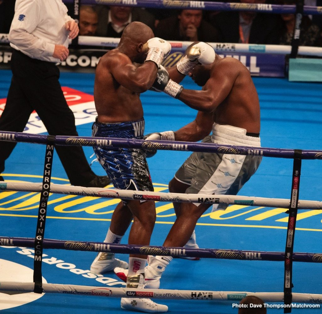 """Dillian Whyte Wants """"Decider"""" With Anthony Joshua: He's"""