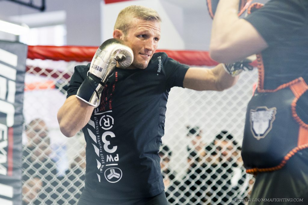 T J  Dillashaw vs  Henry Cejudo moved from UFC 233 to