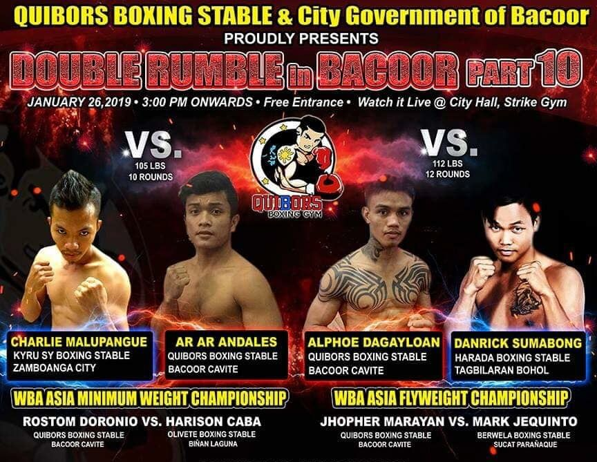 Quibors Promotion in Cavite January 26