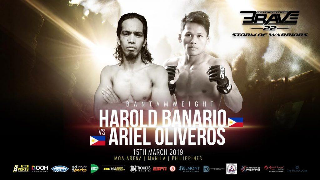 Harold Banario VS Ariel Oliveros
