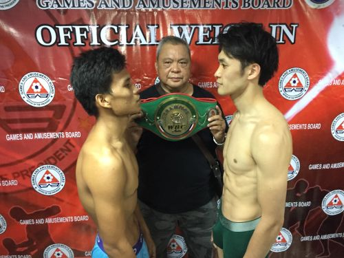 Full Weigh-in Report: Toyogon-Sagawa, Blazo-Alolod Make Weight for WBC Double Header @ Elorde Complex on ESPN5 (PHOTOS)