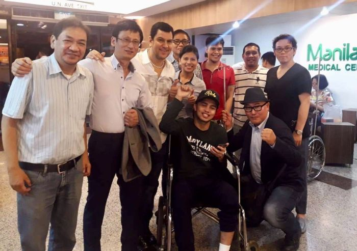 Filipino Boxer Renerio Arizala Returns to the Philippines today after Successful Brain Surgeries in Japan