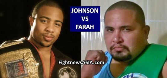 Heavyweights Johnson vs Farah June 15 in Davao FightnewsASIA