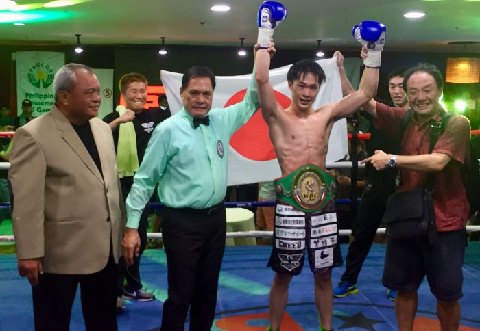 Japanese Ryo Sagawa Scores WBC Asia Title Win Saturday in the Philippines