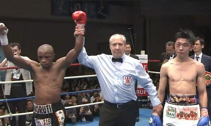 Mthalane Decisions Koruda, Retains IBF Flyweight Belt Monday in Japan