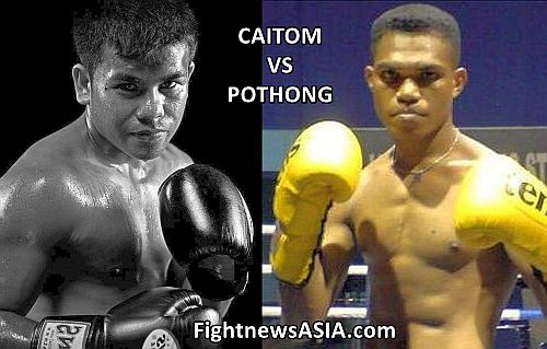 Caitom vs Pothong this Saturday in Singapore FightnewsASA