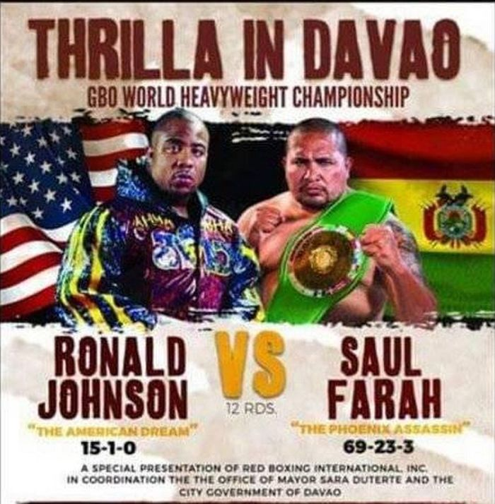 Thrilla in Davao Heavyweight Action Ready to Rock this Saturday, June 15