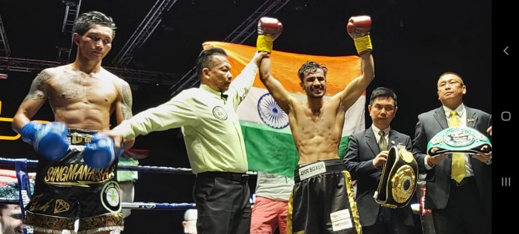 Yadav wins vacant ABF and WBC ABC Silver welterweight title
