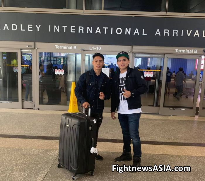 Former WBA bantamweight titlist Reymart Gaballo joinsSanman Stable mate Romeo Duno for training in the USA