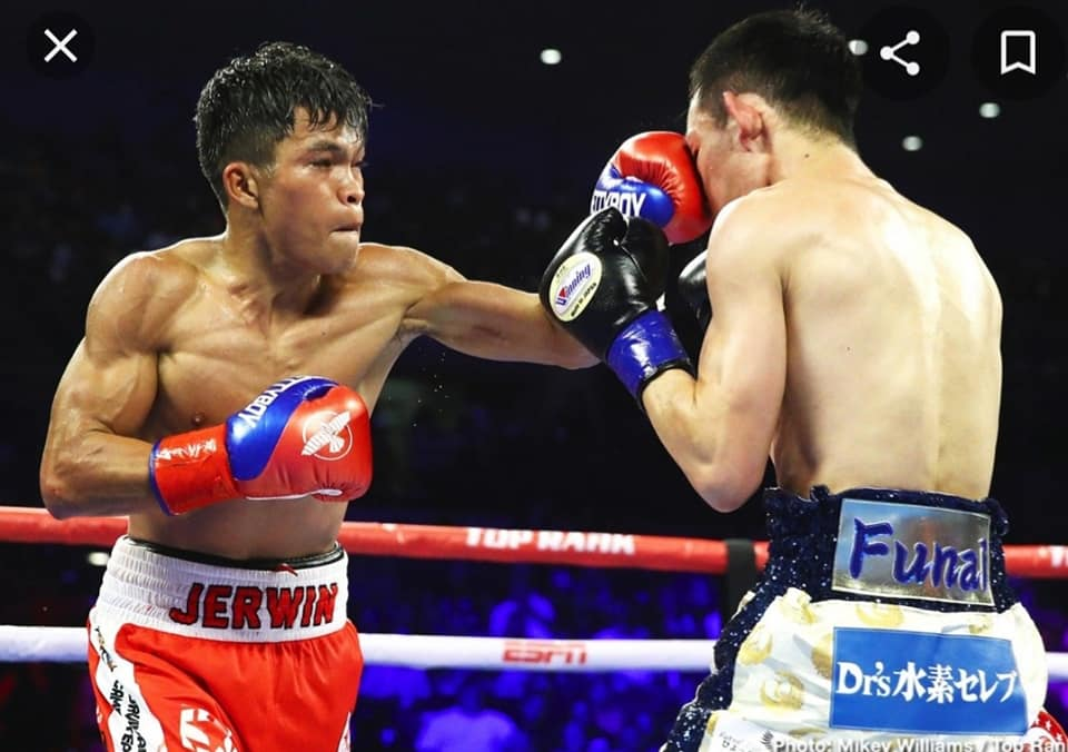 IBF world Flyweight champion Jerwin Ancajas