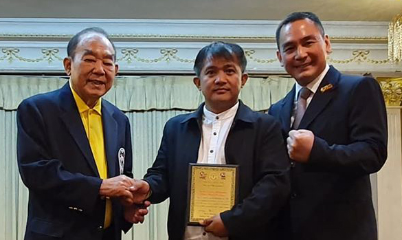 La Trinidad's Highland is PH's 2019 top boxing promoter