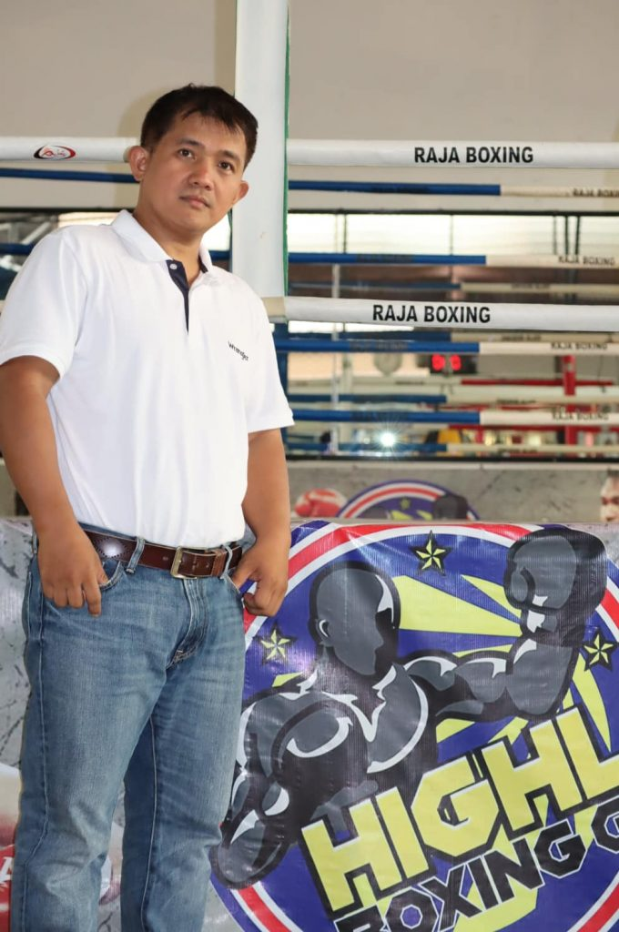 Multi-awarded and Philippine Top promoter Brico Santig