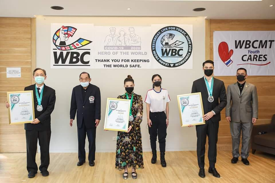 WBC Heroes of Humanity in Thailand