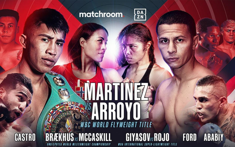 Confirmed: JC Martínez will defend WBC title against Arroyo