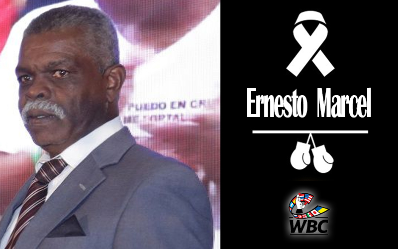 The WBC mourns the death of Ernesto Marcel