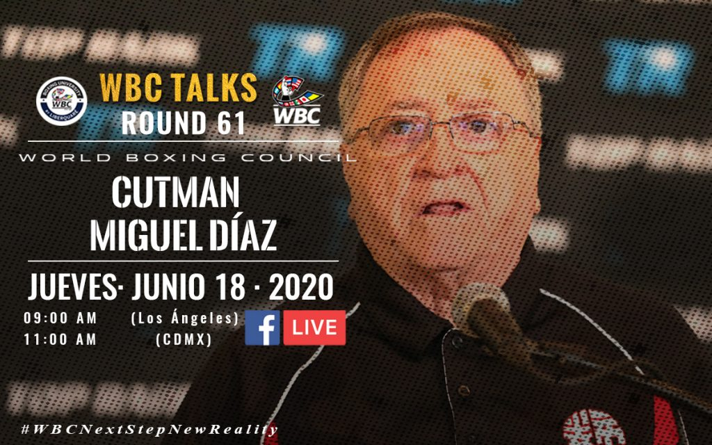 WBC TALKS ROUND 61: A cut above with Miguel Diaz