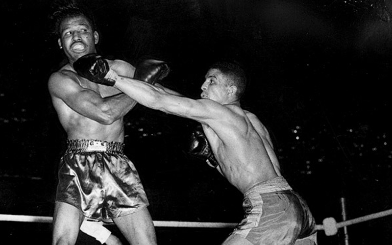 A day like today, Randolph Turpin defeated Sugar Ray Robinson