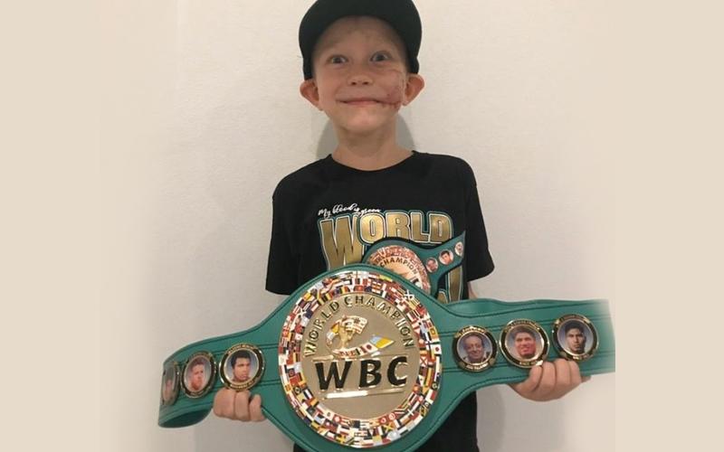 Brave Bridger Walker, WBC Honorary Champion