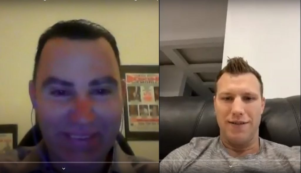 Former World Champion Jeff Horn interviewed by Peter Maniatis of KO Boxing Show