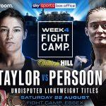 Katie Taylor and Delfine Persoon both desire vindication