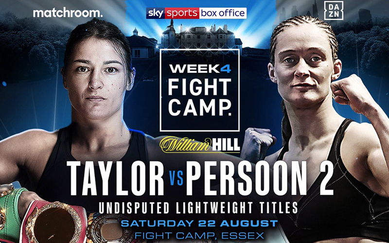 Katie Taylor and Delfine Persoon both desire vindication