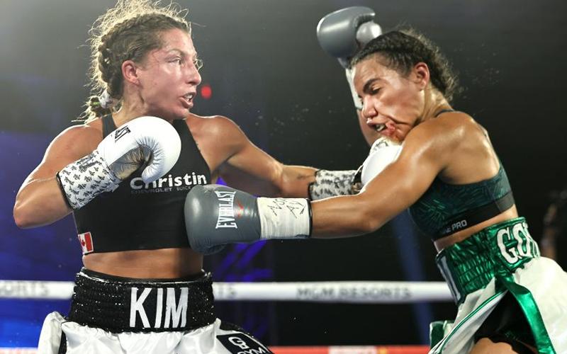 Kim Clavel defeats Natalie González