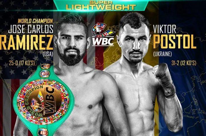 Ramírez and Postol send 30-day pre-weigh ins