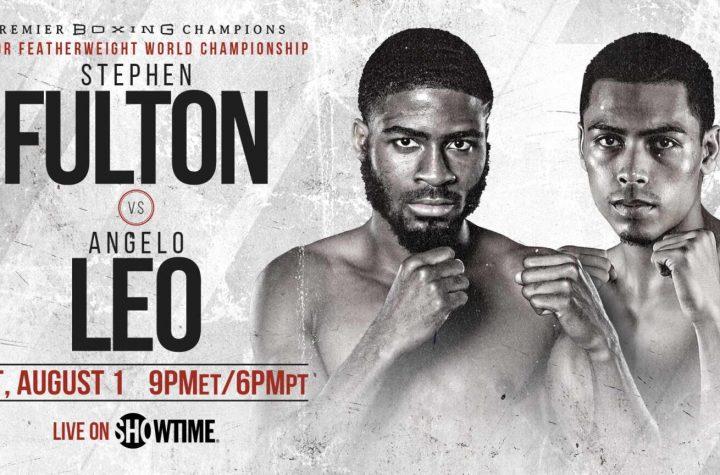 Stephen Fulton Jr. Vs. Angelo Leo – Vacant WBO Junior Featherweight World Championship
