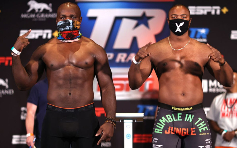 Takam and Forrest clash in Las Vegas today