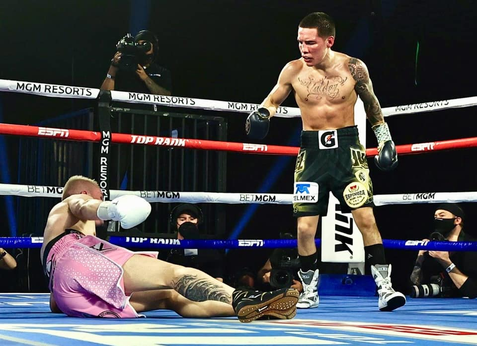 Valdez Knocks Out Vélez