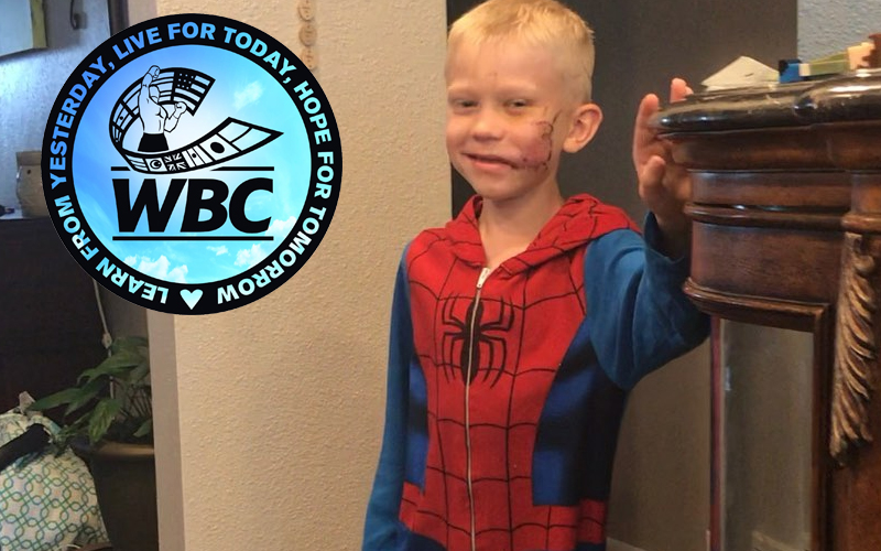 WBC Names Courageous Young Bridger Walker Honorary Champion