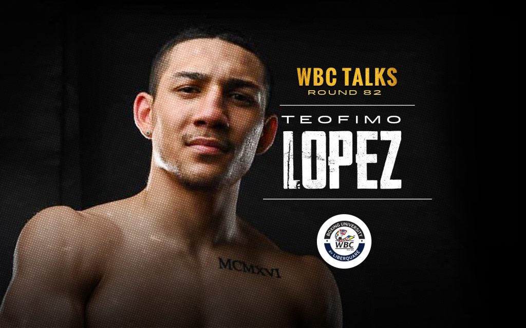 WBC Talks Round 82; One on One with Teofimo Lopez