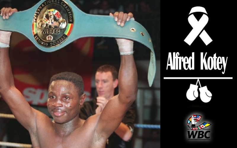 WBC mourns death of Alfred Kotey