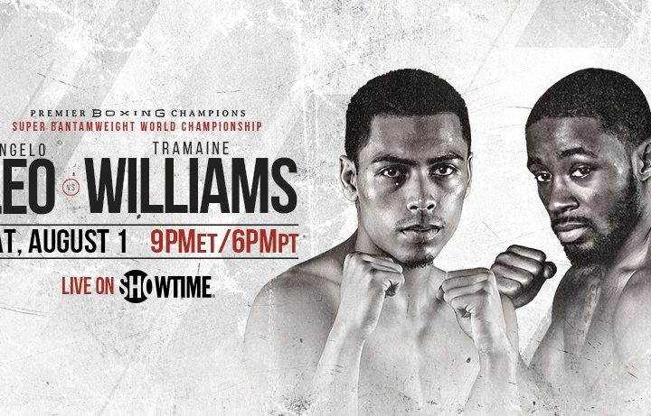 WBO Jr. Featherweight Championship Angelo Leo, Tramaine Williams Quotes