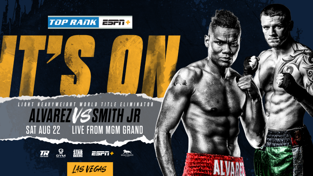 "WBO World Title Eliminator Marks Top Rank's Return To The MGM Grand ""Bubble"""