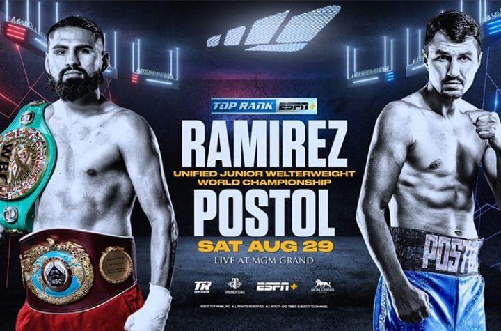 At last! Ramírez Vs Postol in Las Vegas