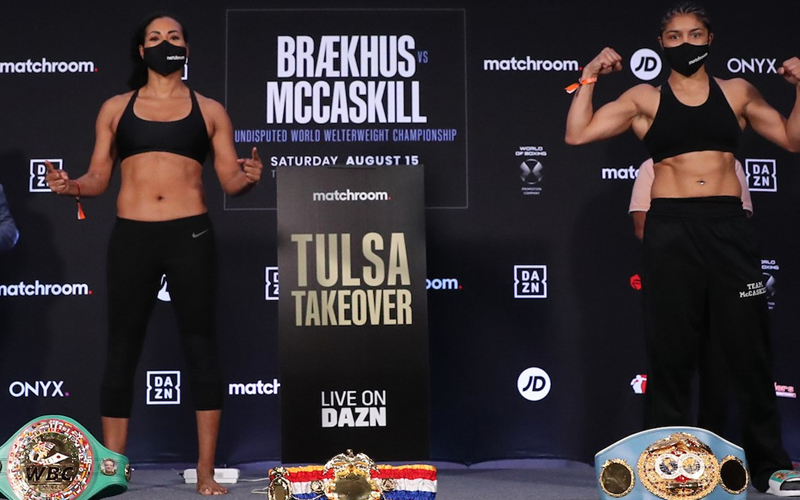 Braekhus going for the Joe Louis record