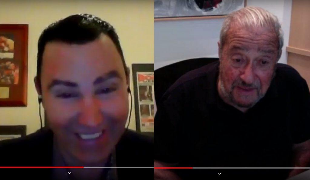 Hall Of Fame Promoter CEO of Top Rank Bob Arum Interview Peter Maniatis KO Boxing Show Australia!