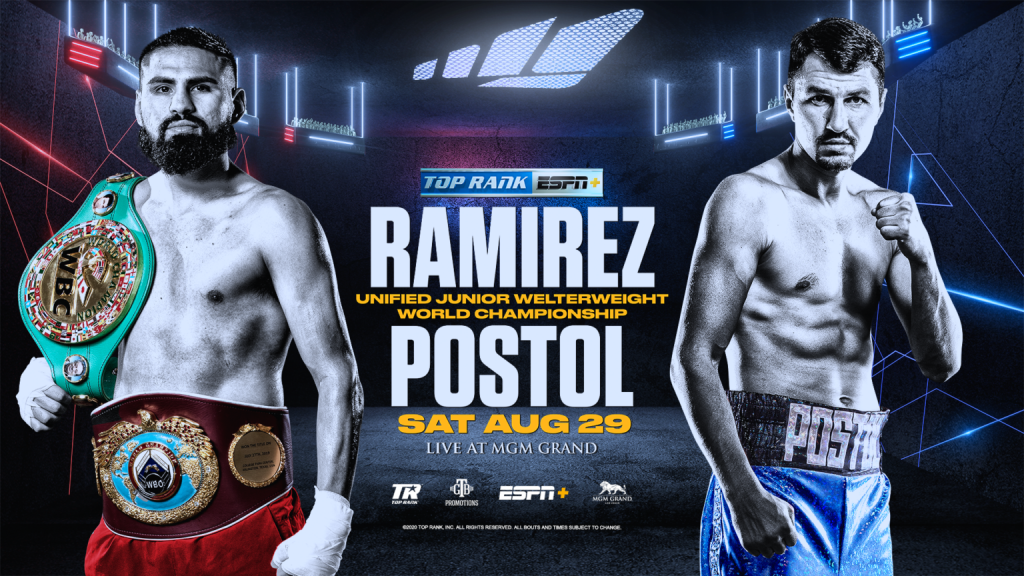 Jose Ramirez To Defend Unified WBO Junior Welterweight Championship At MGM Grand Against Viktor Postol August 29 LIVE On ESPN+