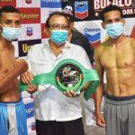 Espinoza vs Juárez for WBC Int'l Silver 118 Belt in Nicaragua