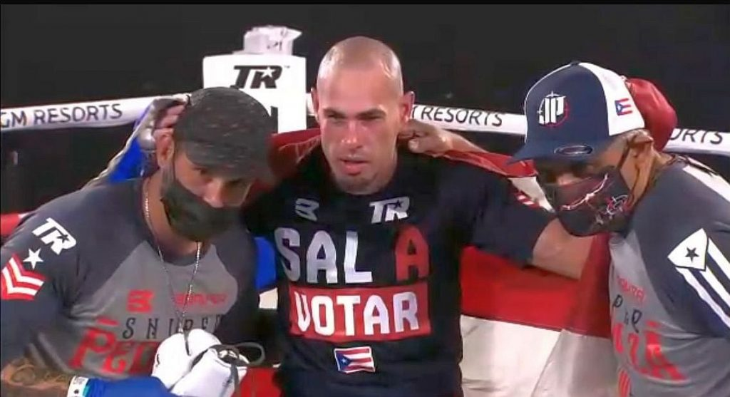 Pedraza Outclasses Molina tonight in Vegas Wants a Shot at the 140 World Title