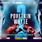Thrilling Povetkin vs Whyte Rematch on Nov 21 in the U.K.
