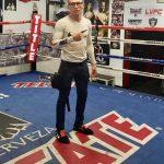 René Alvarado Training in Las Vegas for First Defence