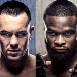 UFC Colby Covington vs Tyron Woodley Saturday in Vegas