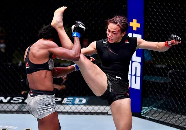 UFC Michelle Waterson Decisions Angela Hill at UFC Apex in Las Vegas