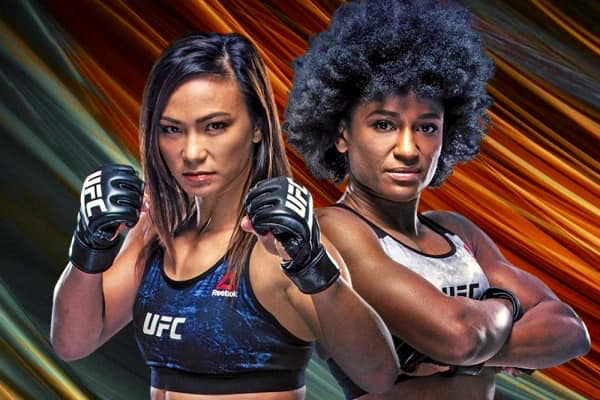 UFC Michelle Waterson vs Angela Hill this Saturday in Las Vegas